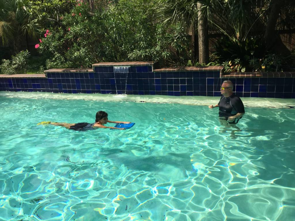 Low Impact Training in Pool Houston