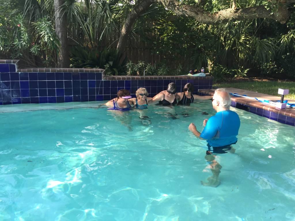 Fun Group Workouts in Pool Houston