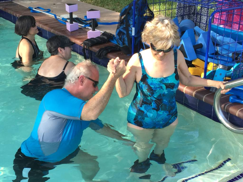 One on One Aqua Training Sal Water Houston