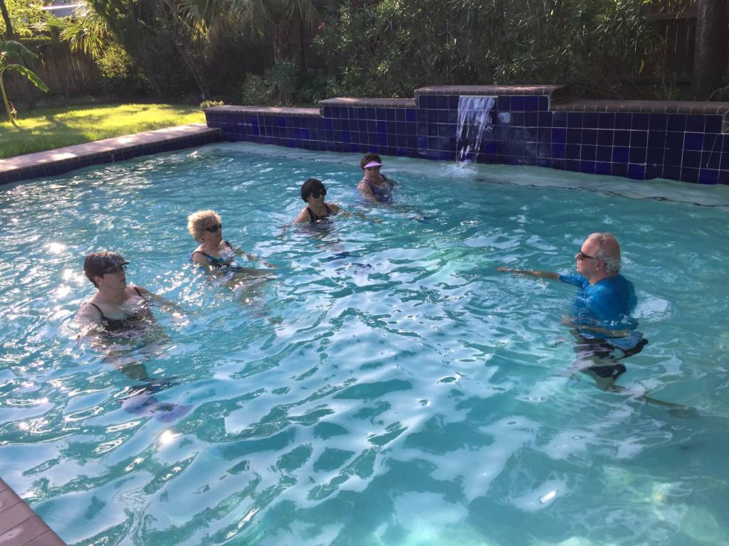 Group Personal Training in Pool Houston