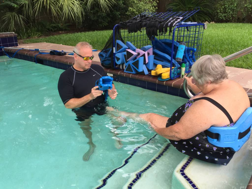 Effective Low Impact Aqua Training Houston