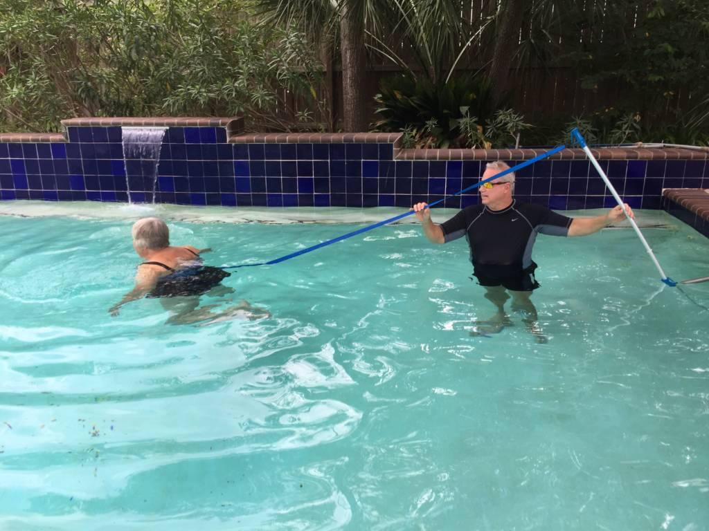 Loose Weight with Aqua Training Houston