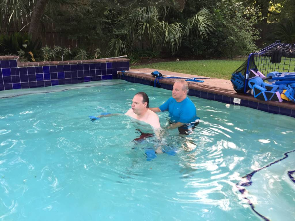 Personal Aqua Training for Men Houston
