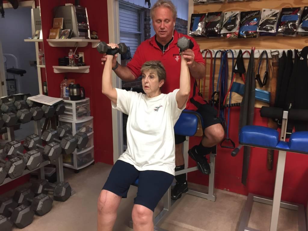 Free Weights Post Rehabilitation Houston