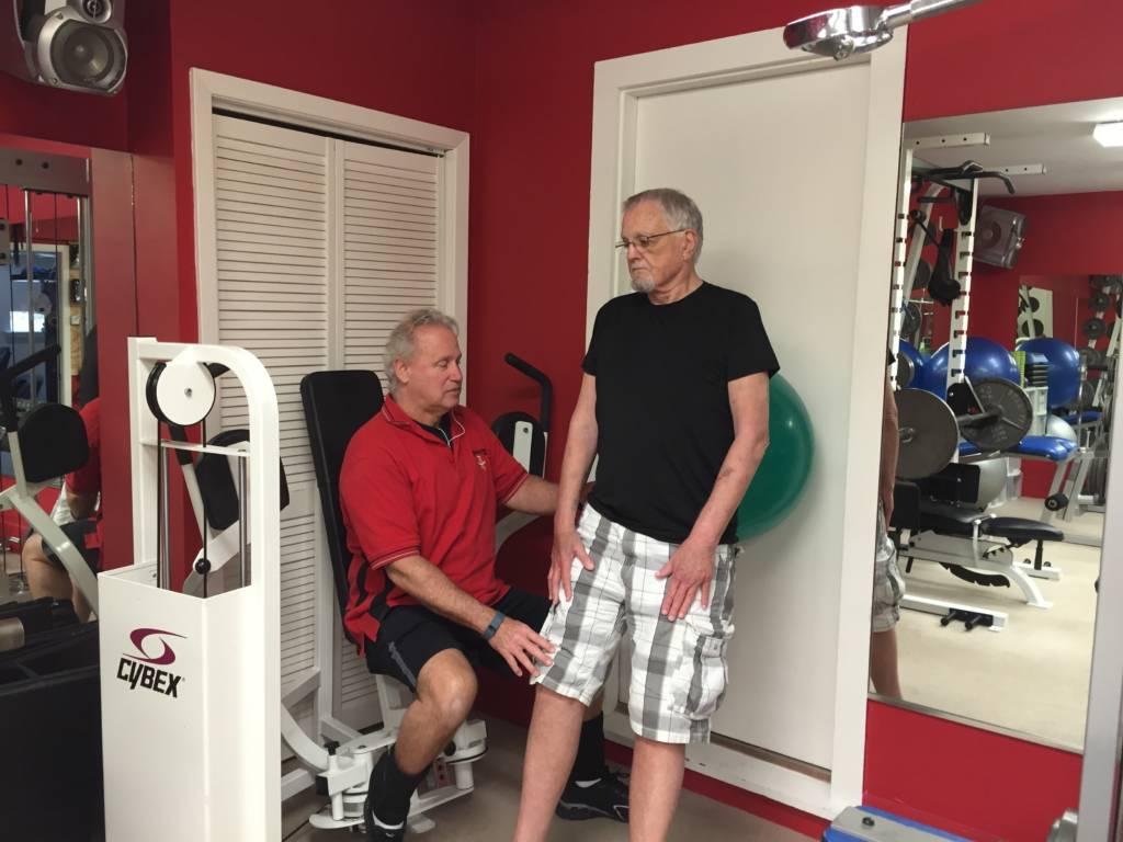 Senior Back Exercises Houston