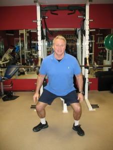 Body Weight Squat 2)