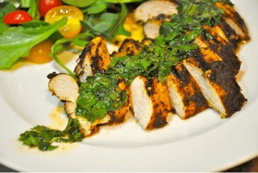 Moroccan spiced chicken breast