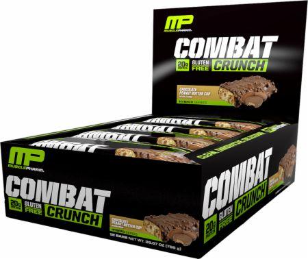 Combat Crunch Protein Bars